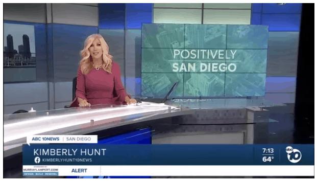 Positively San Diego News Broadcast